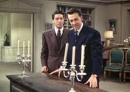 2 men candles